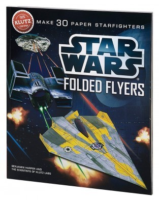 Klutz Star Wars Folded Flyers Paper Planes book