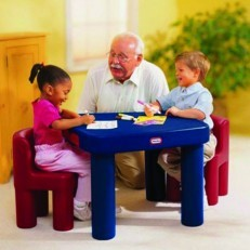 Little Tikes Large Table and & Chairs