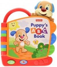 Fisher Price Laugh & Learn Puppy's ABC Book