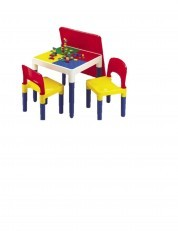 Lego Brick 2 in 1 Building Activity Table and Chairs