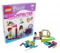 Lego Friends Brickmaster book with bricks