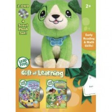 Gift of Learning- 2 DVD & Plush Gift Set