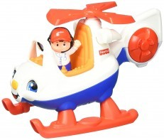 Fisher Price Little People Helicopter