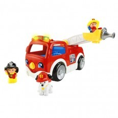 Fisher Price Little People Lift n Lower Fire Truck fire engine