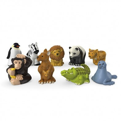 Little People Zoo Animal Friends 9-pack