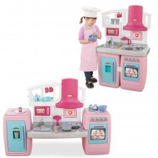 Little Tikes Bake N Grow Kitchen + FREE Kidkraft Cookware Set
