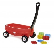 Little Tikes Waffle Blocks Toy Storage Wagon