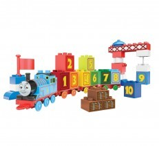 Mega Bloks Junior Builders 123 Count with Thomas