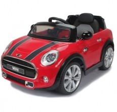 Battery Operated Car Mini Cooper S JE195 (Red/Blue/Yellow)
