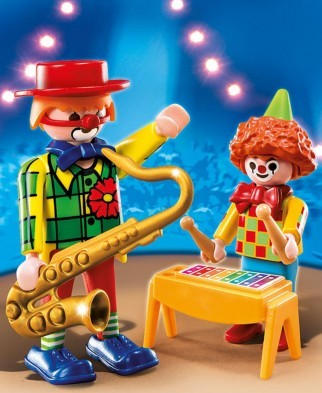 Playmobil Musical Clowns