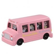 Dream Tomica Peanuts Girls Bus