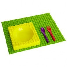 Placematix 4-pc Kids Dinner Set (w/placemat)