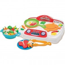 Play Doh Kitchen Creations Sizzlin Stovetop