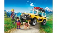 Playmobil Action Mountain Rescue Truck 9128
