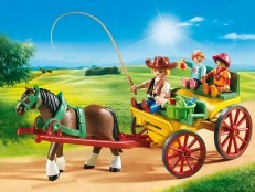 Playmobil Horse-Drawn Wagon 6932