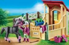 Playmobil Horse Stable with Araber