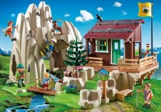 Playmobil Action Rock Climbers with Cabin 9126