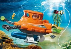 Playmobil Submarine with Underwater Motor 9234