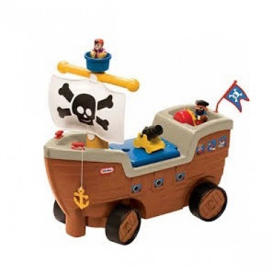 Little Tikes Play n' Scoot Pirate Ship ride on