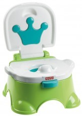 Fisher Price Royal Stepstool Potty (Green/Grey)