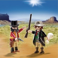 Playmobil Sherriff and Outlaw Duo Pack