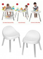 Skip Hop E&M Baby's View 3-Stage Activity Center +2 FREE Chairs