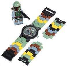 LEGO Star Wars Boba Fett Watch with minifigure