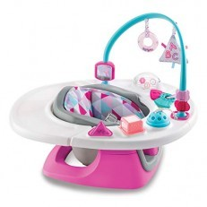 Summer Infant 4 in 1 Deluxe SuperSeat Booster (Pink)