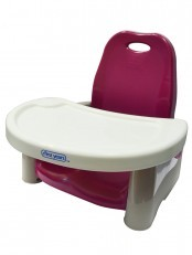 Swing Tray Booster Seat - Cranberry