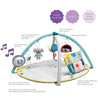 Taf Toys All Around Me Gym Activity Playmat