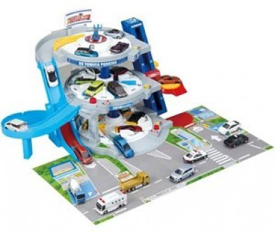 Takara Tomy Tomica DX Parking + FREE Car