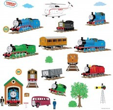 Thomas & Friends Peel and Stick Wall Decals