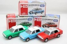 Tomica Hong Kong Toyota Crown Comfort Taxi Set