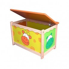 I'M TOY Wooden Toy Chest box