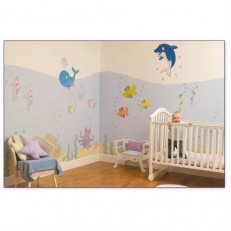 Undersea Adventure Wall Sticker Make-Over Kit