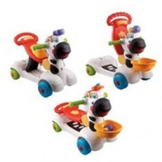 Vtech 3 in 1 Learning Zebra Scooter Ride On