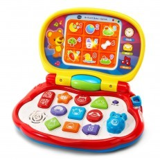 Vtech Brilliant Baby Laptop (Red/Pink)