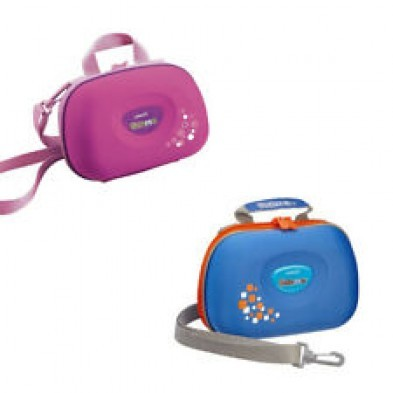 Vtech Kidizoom Camera Travel Carry Case (Pink/Blue)