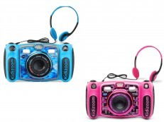 Vtech Kidizoom Camera Duo Deluxe 5.0 MP3 & headphones (blue/pink