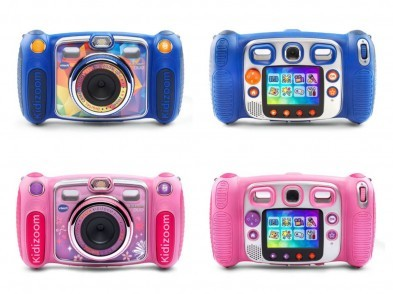 Vtech Kidizoom Camera Duo (Blue/Pink/Camouflage)