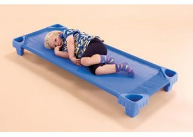 Weplay Cot 140cm stackable school bed