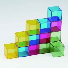 Weplay Art Blocks - Rainbow Crystal Set of 16