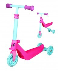 Zycom Zykster 2 in 1 Balance Trike Scooter (Teal Pink Purple)